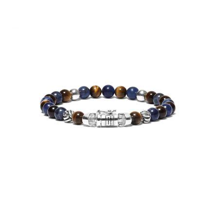 Armband Spirit Bead Mini Mix Sodalith Tigerauge