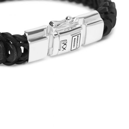 Bracelet Lars Leather Black