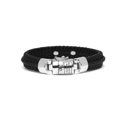 6911-Nurul-Small-Leather-Bracelet-Black_816BL-E_Front_8718997029004.jpg