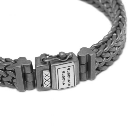 Armband Julius Black Rhodium Zilver