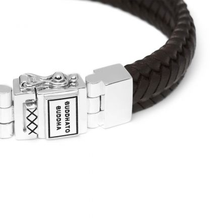 Bracelet Edwin Small Leather Brown