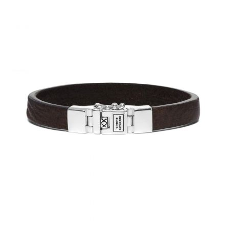 Armband Essential  Leer Smooth Bruin