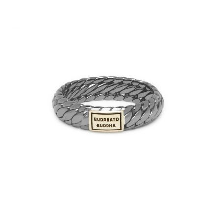 Ben XS Ring Black Rhodium Shine Goud 14kt