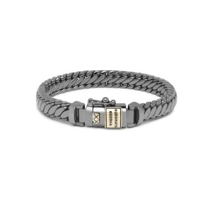 Bracelet Ben XS Black Rhodium Shine Gold 14kt
