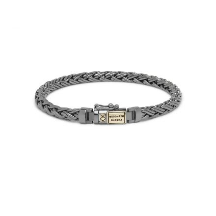 Bracelet Katja XS Black Rhodium Shine Gold 14kt