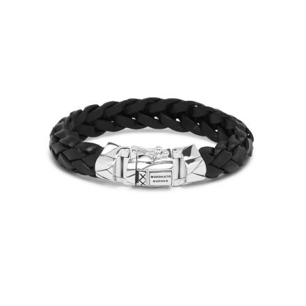 Bracelet Mangky Leather Black