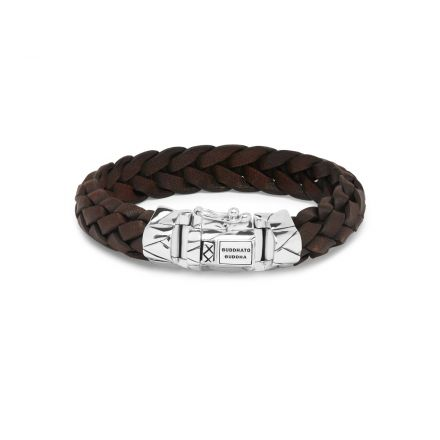 Bracelet Mangky Leather Brown