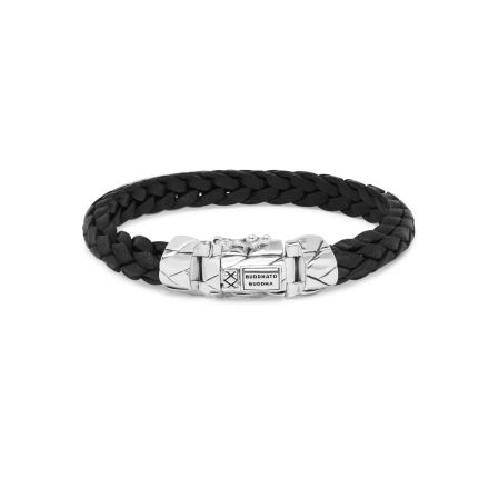 Bracelet Mangky Small Leather Black