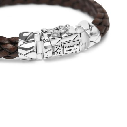 Bracelet Mangky Small Leather Brown